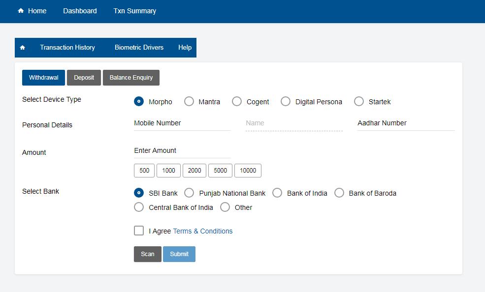 Aadhaar enable payment system (AEPS)