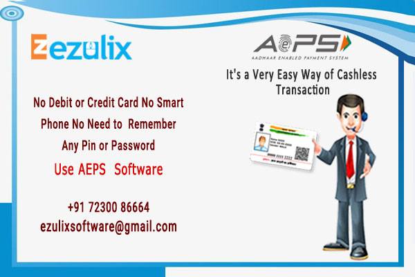 aadhaar enable payment system (AEPS Software)
