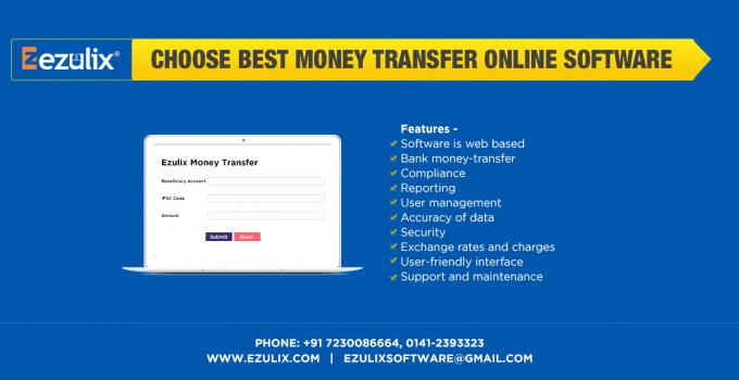 money transfer online software