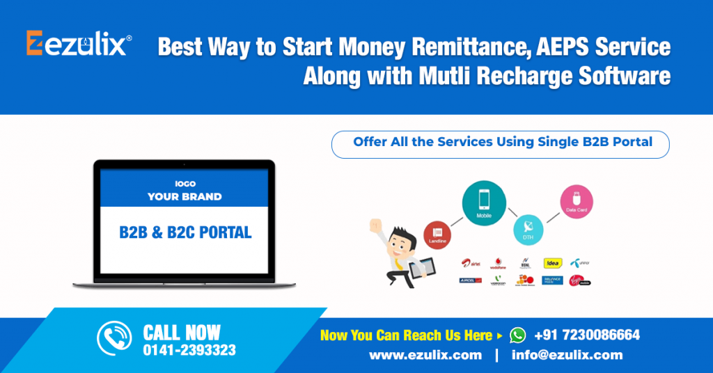 money remittance, aeps, multi recharge