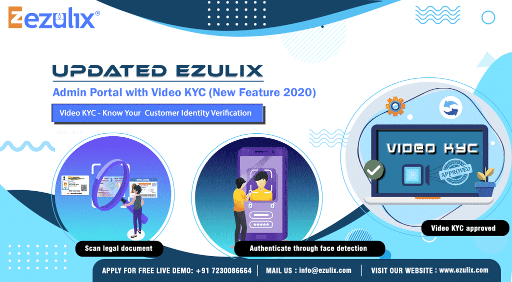 admin portal with video KYC