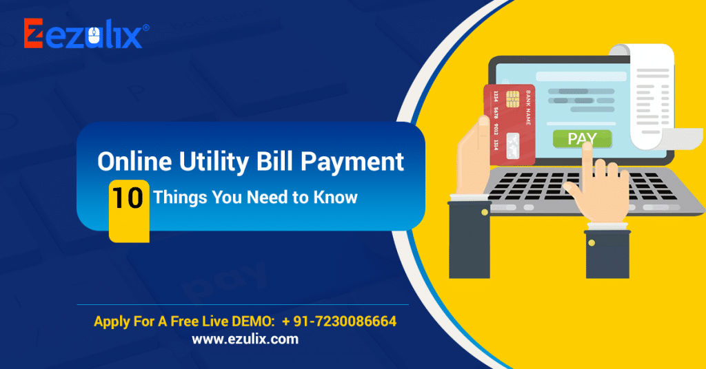 online utility bill payment