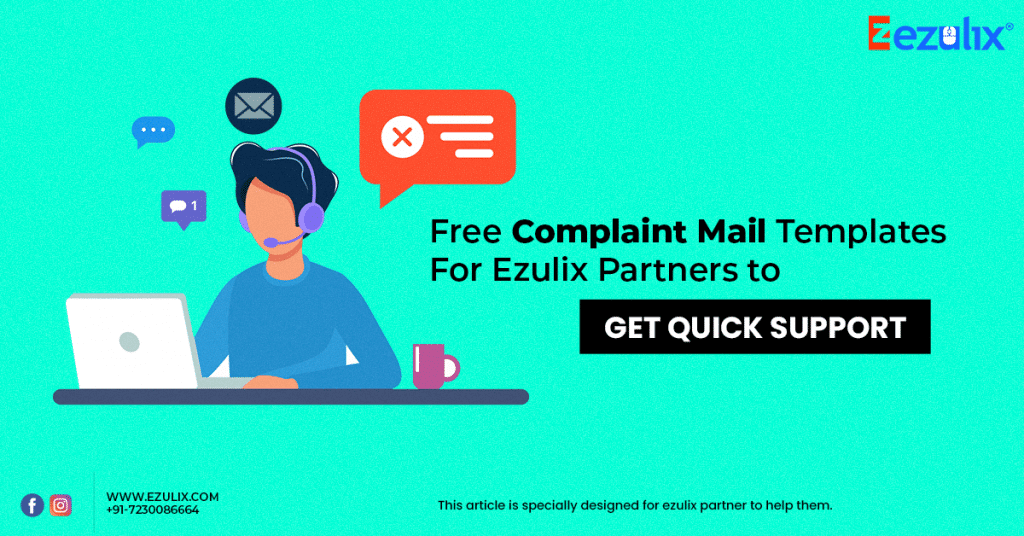 free complaint mail templates